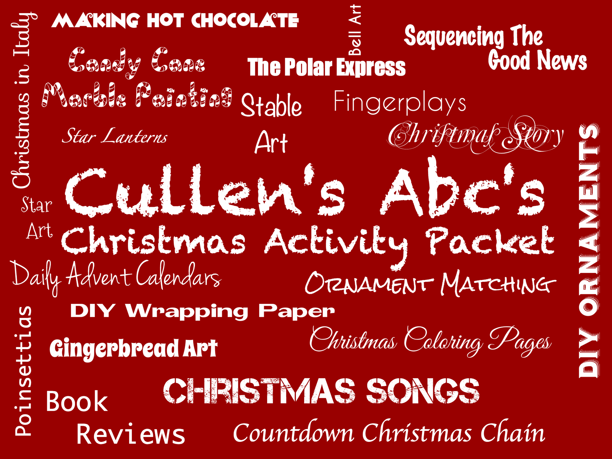 Christmas Activity Packet Image