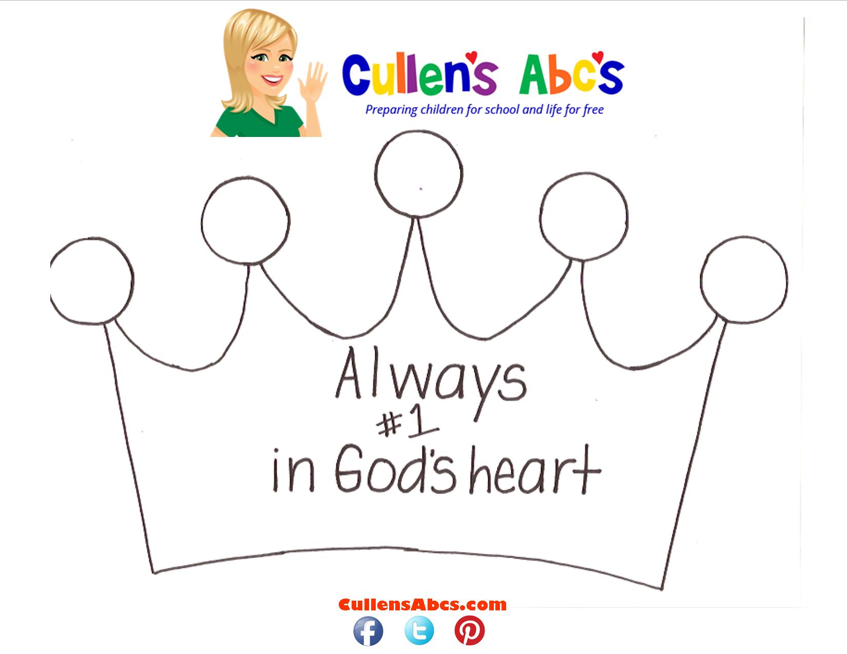 Crown – #1 In God's Heart