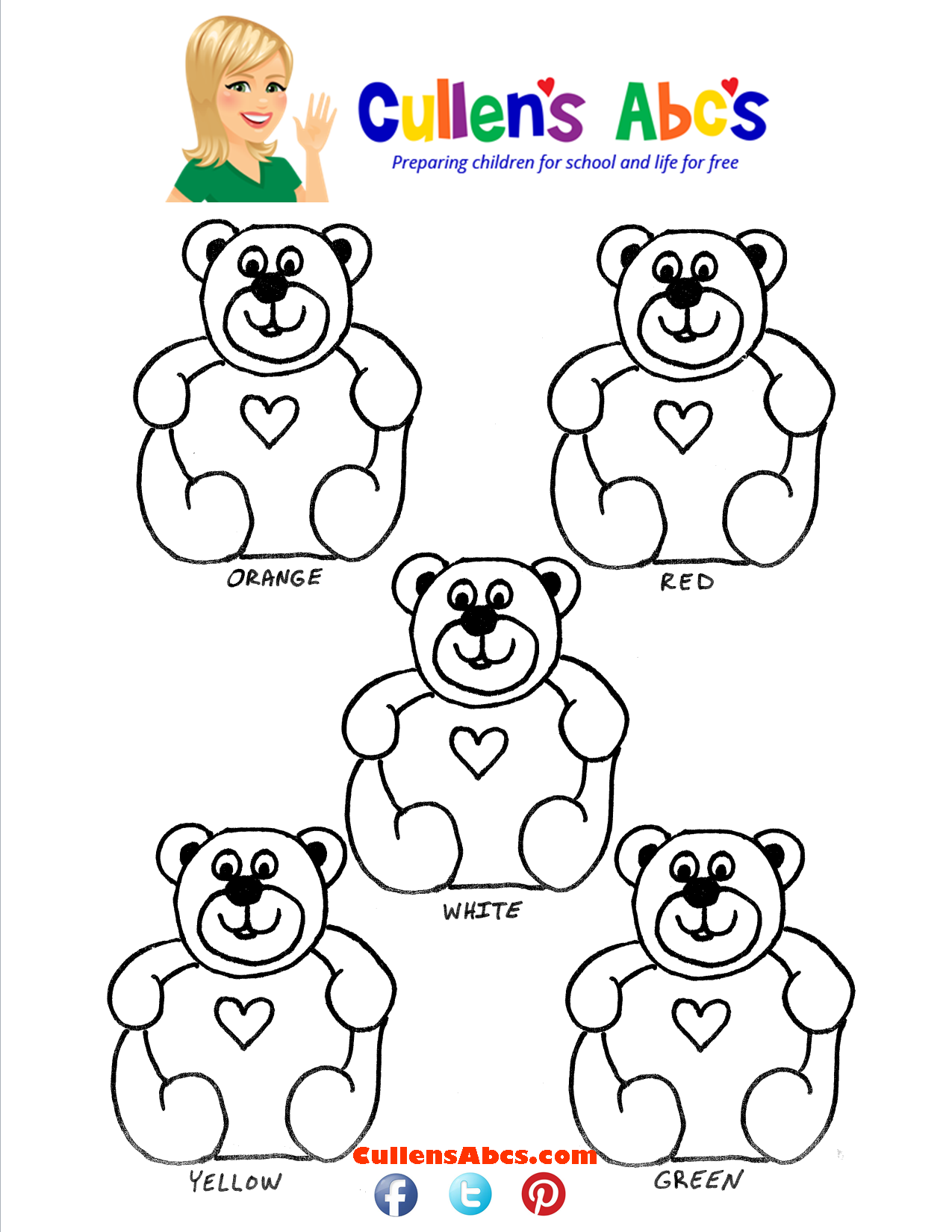 Revered image within gummy bear printable
