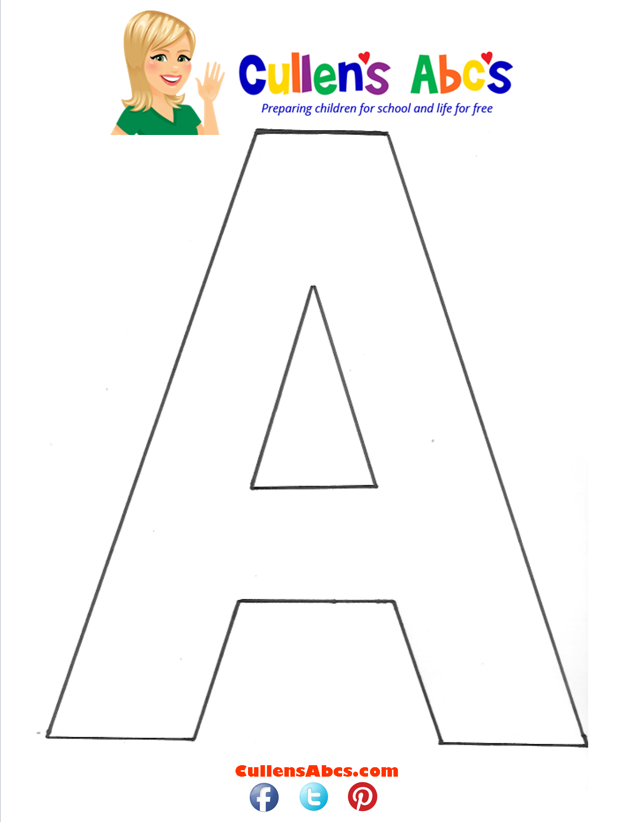 Letter A Uppercase