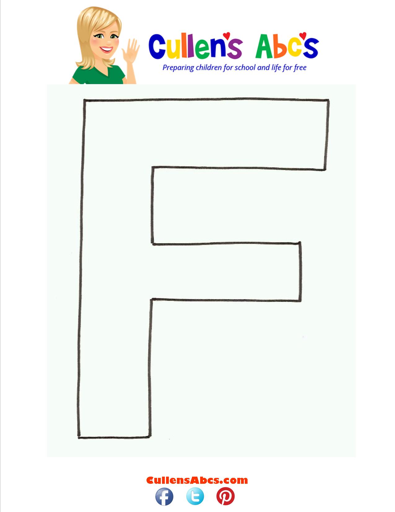 Letter F Uppercase