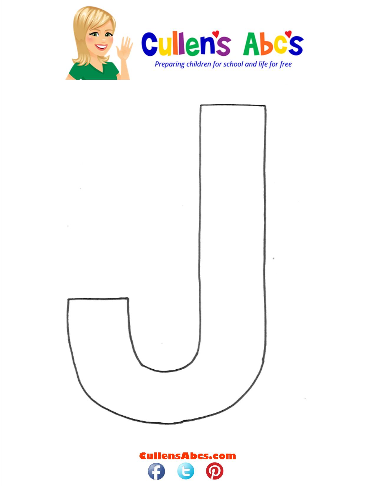 Letter J Uppercase