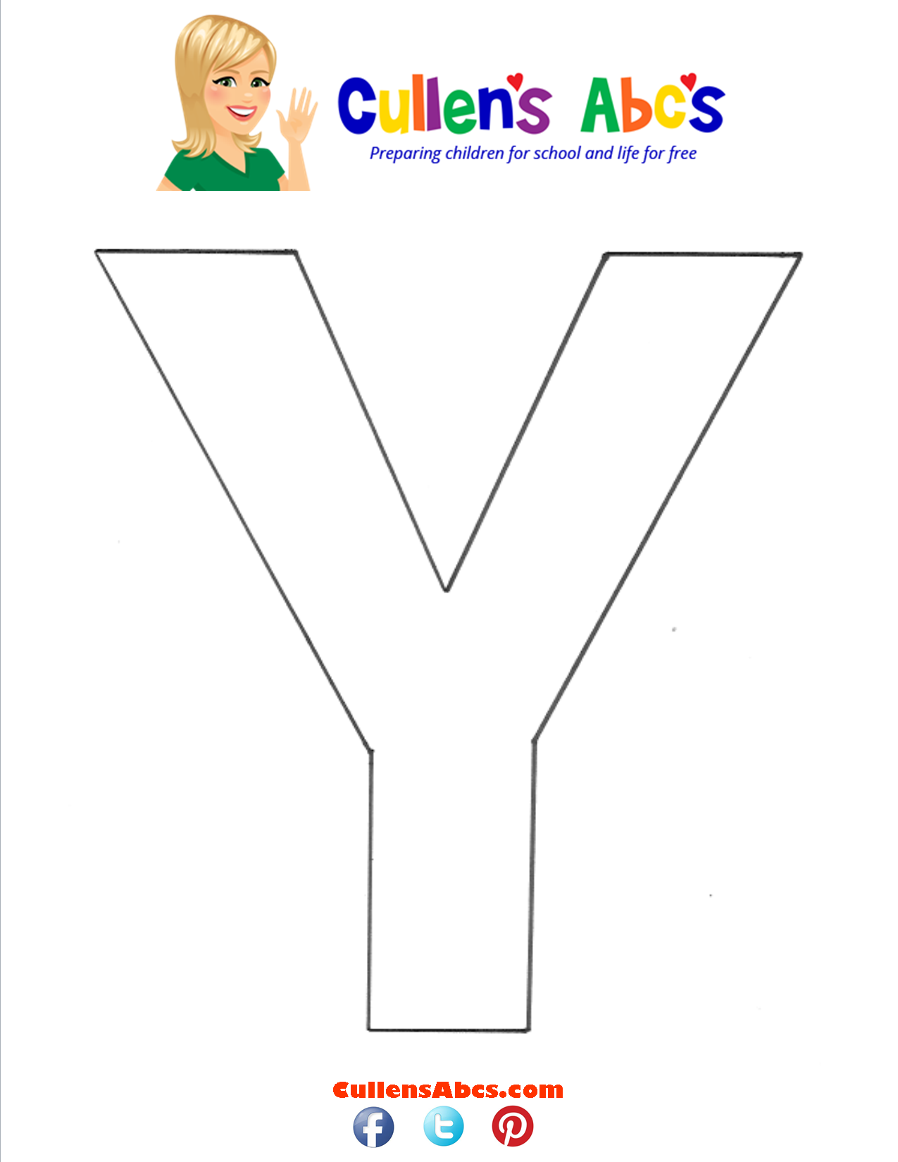 Letter Y Uppercase