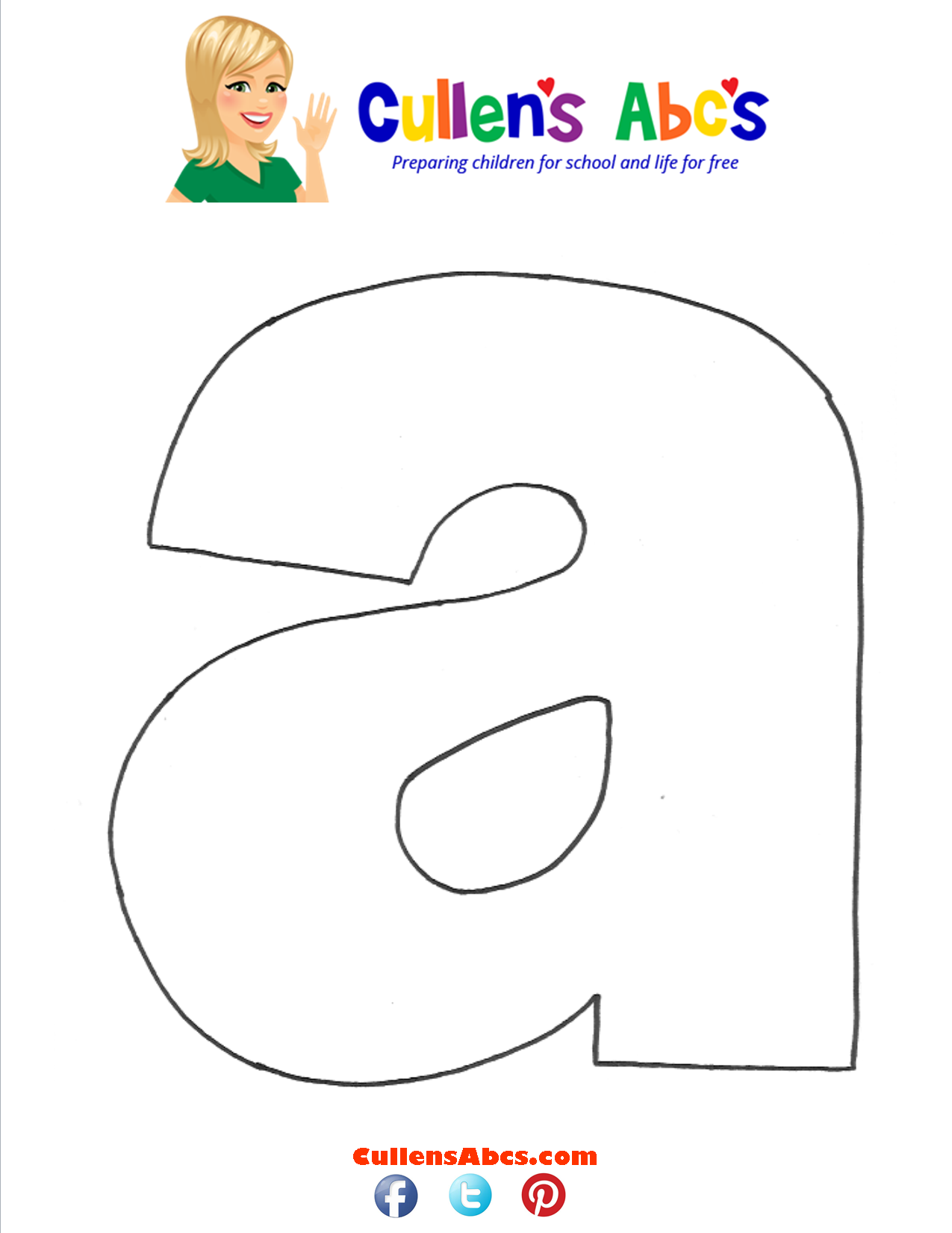 Letter a Lowercase