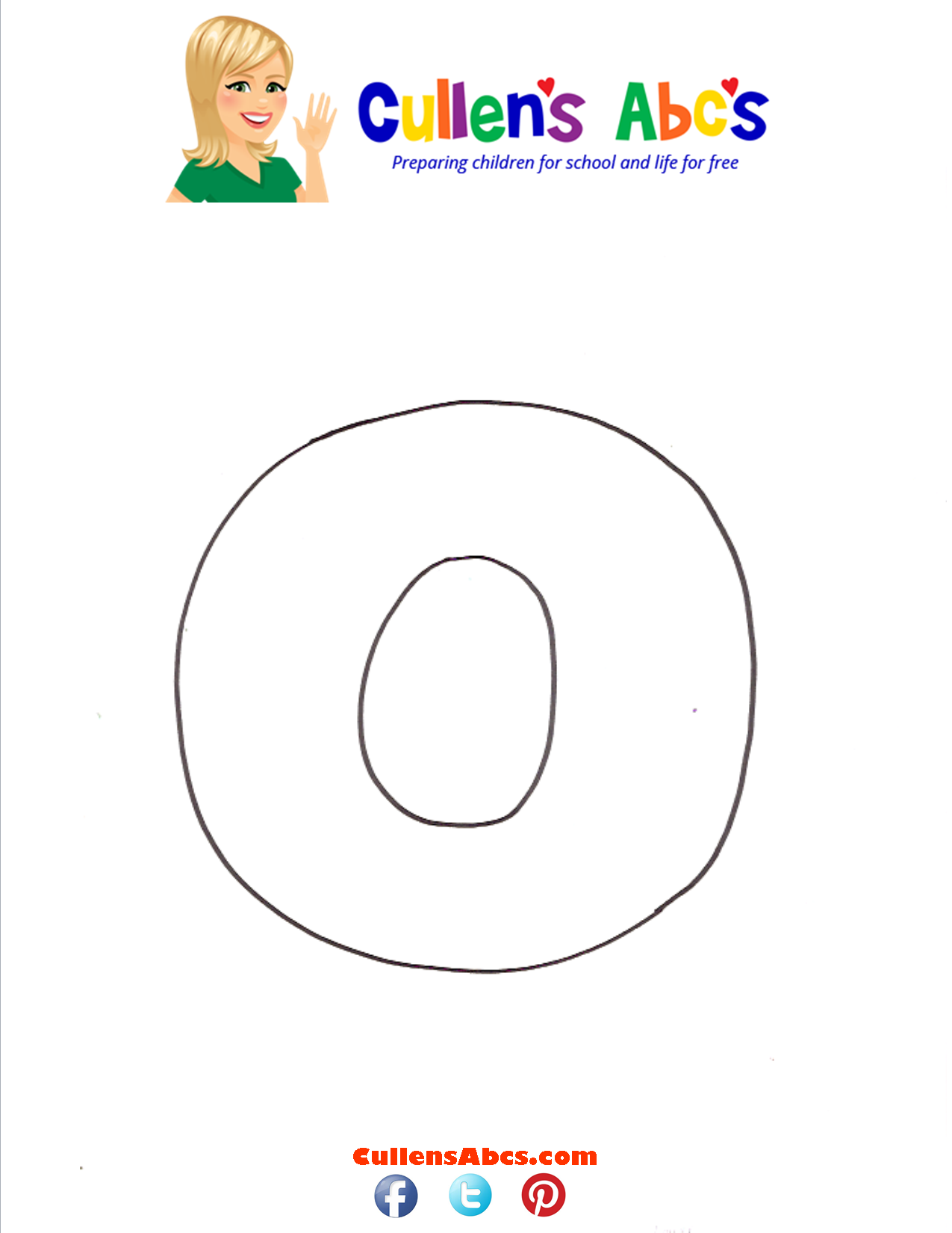 Letter O Lowercase Online Preschool And Children S Videos By