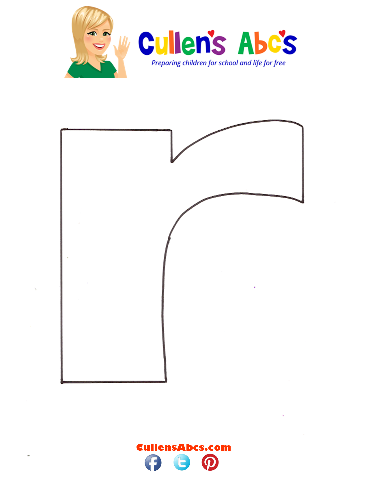 Letter r Lowercase