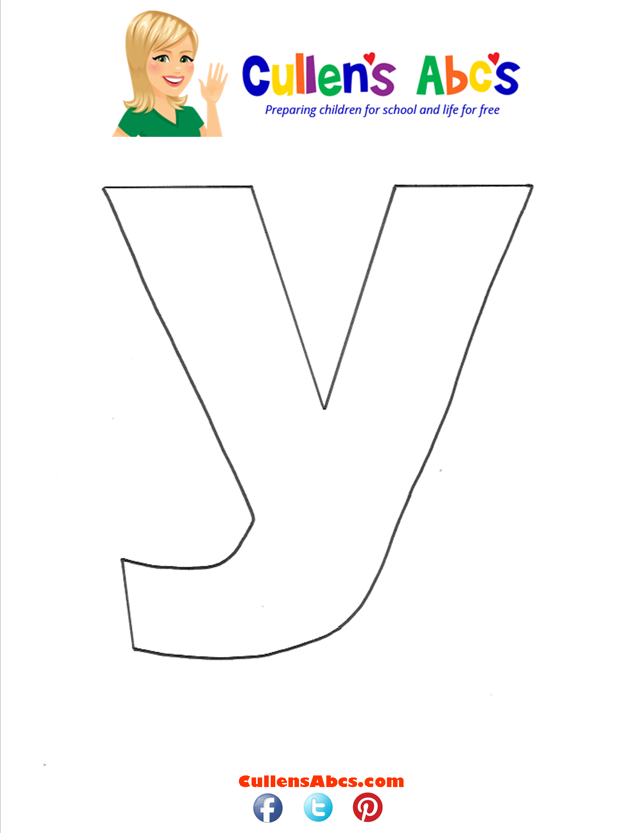 Letter y Lowercase