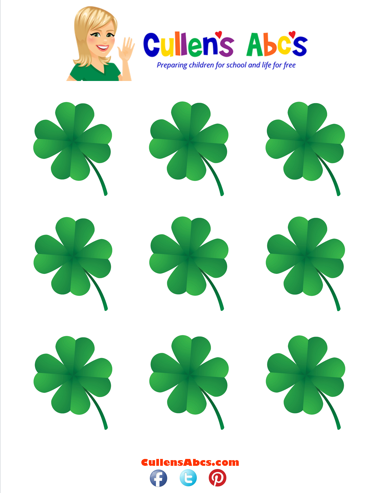 Shamrock Hiding Activity