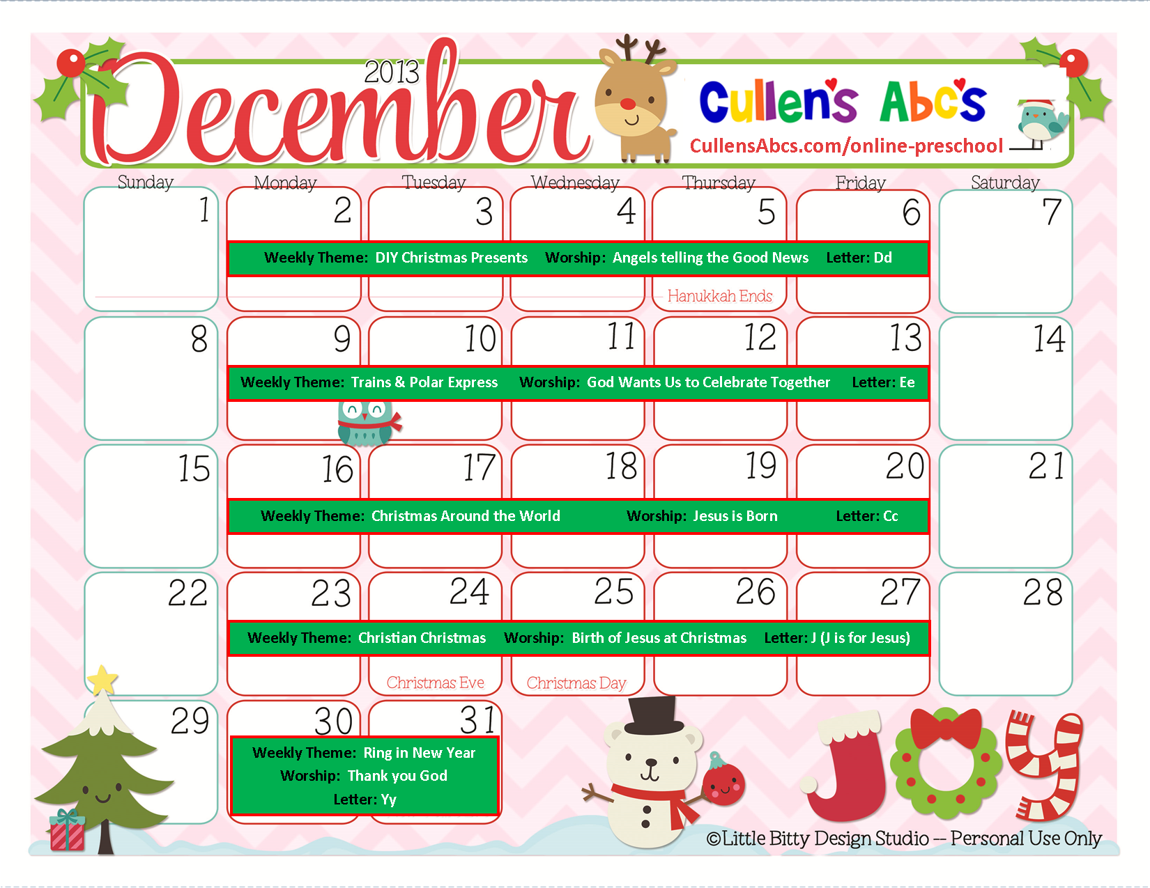 Calendar Category Ideas : Preschool calendars online and children s