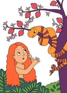 Eve and the Sneaky Snake