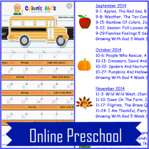 preschool activities - draft