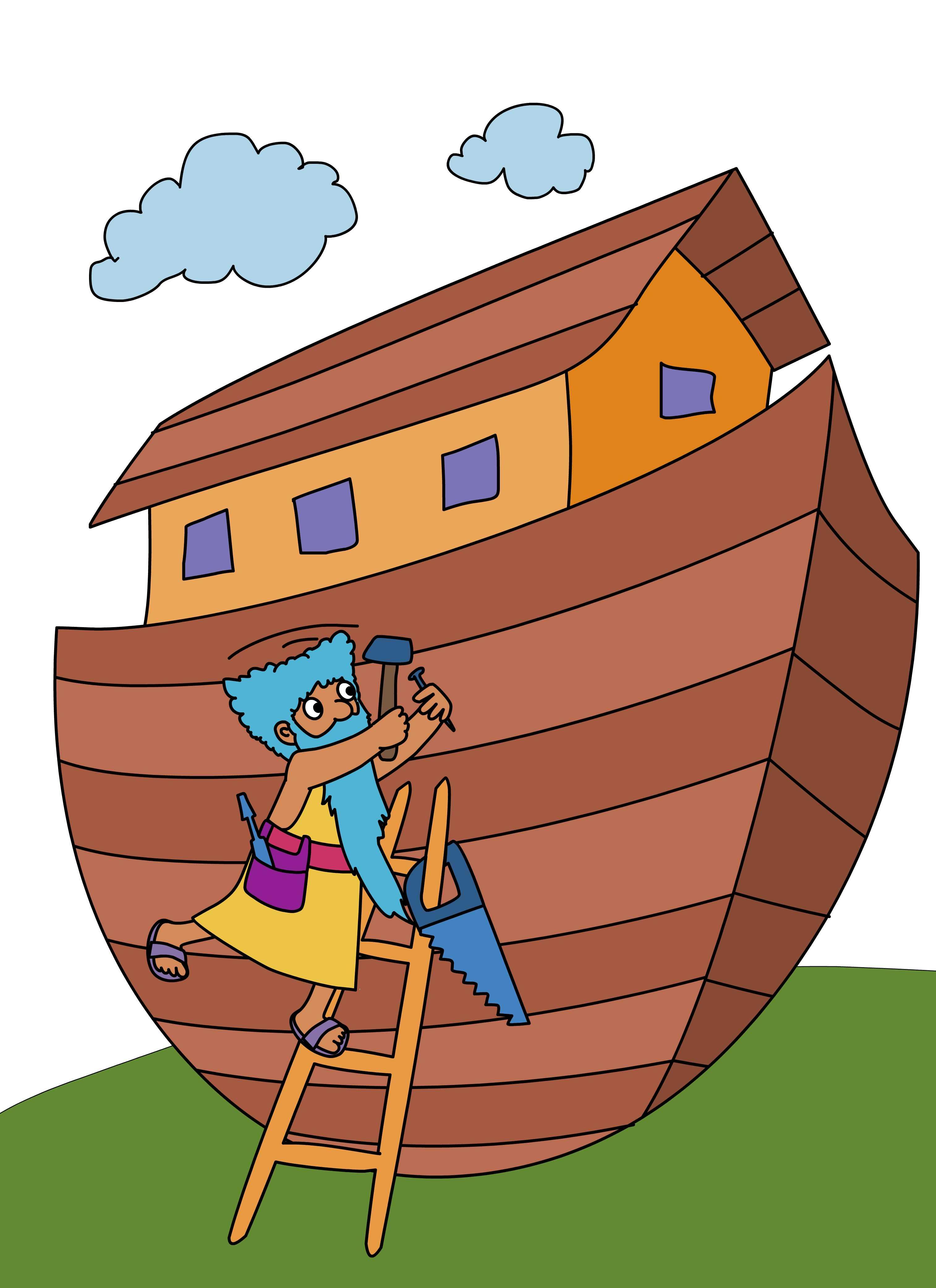 noah builds the ark online preschool and children u0027s videos by