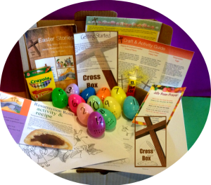 Cross Box Easter