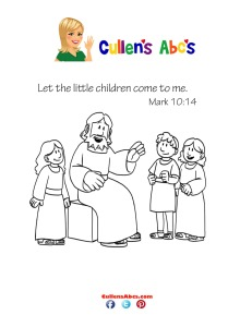 Bible Key Point Coloring Page | Jesus Loves Childre