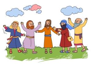 Jesus Returns Color