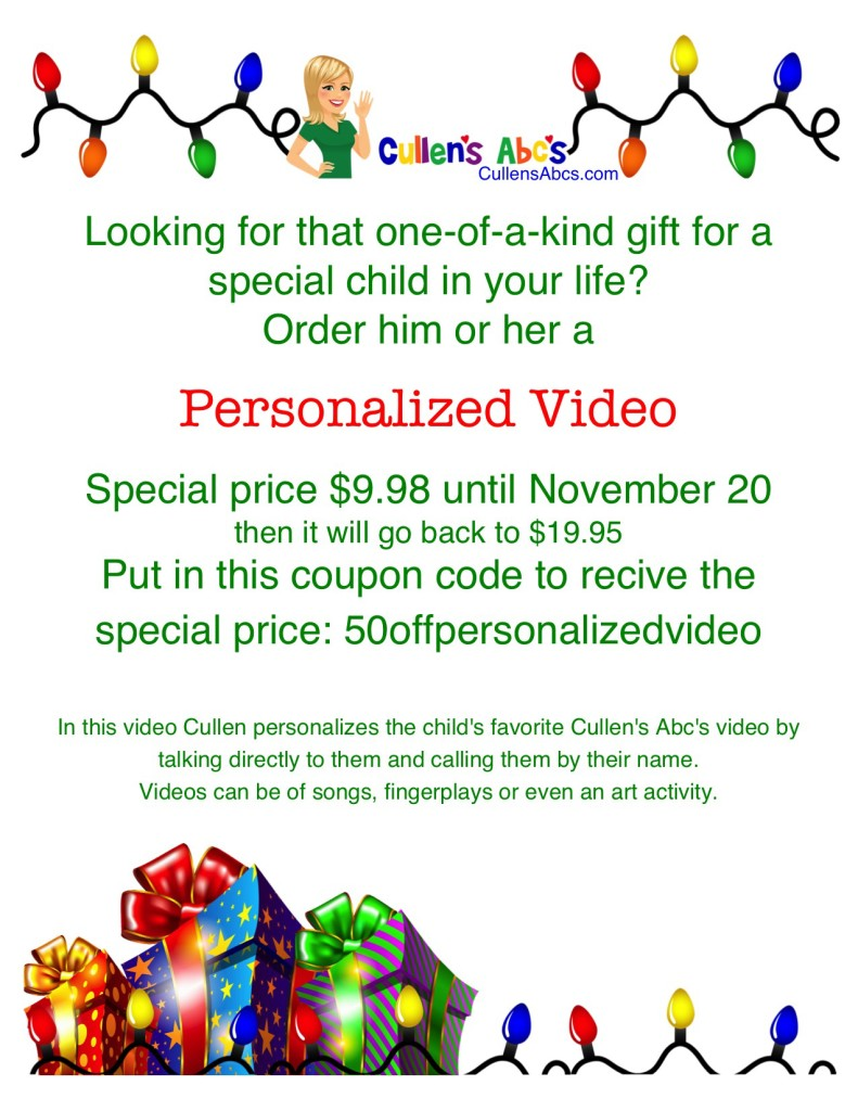 Christmas Personalized Video 2015