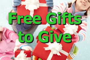 Free Gifts to Give 600 400